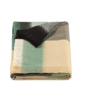 geblokte sjaal alpaca